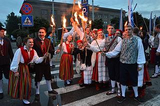 TÜ RKA Gaudeamusel Lätis